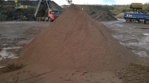 Sand and gravel 0mm to 5mm