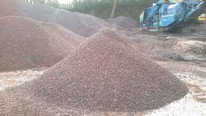 Sand and gravel 14mm to 20mm